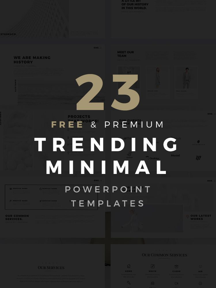 23 free and premium minimal powerpoint templates are trending and 23 free and premium minimal powerpoint templates are trending and can completely help your business presentatione use of these incredible toneelgroepblik Images
