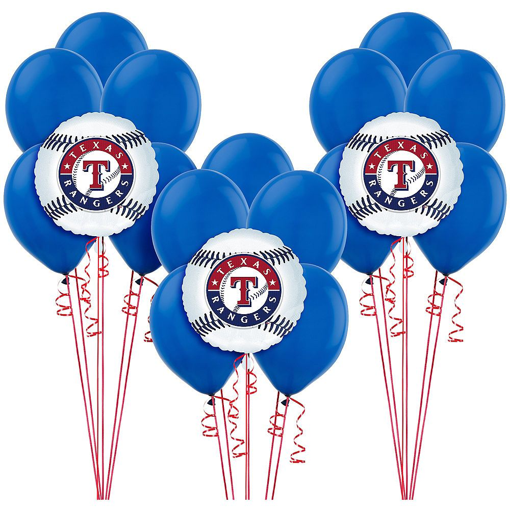 Texas Rangers Balloon Kit Image 1 Kids Party Supplies Halloween Party Supplies Kids Birthday Party Supplies