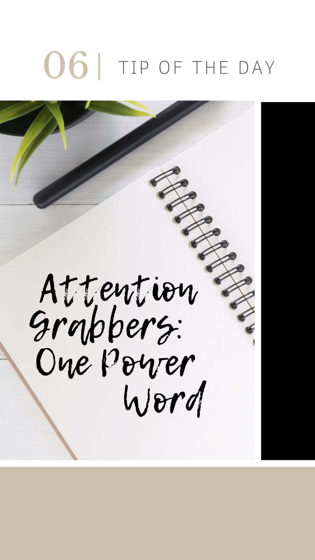 STOP! Do you grab attention in 150 characters? It's one of the most