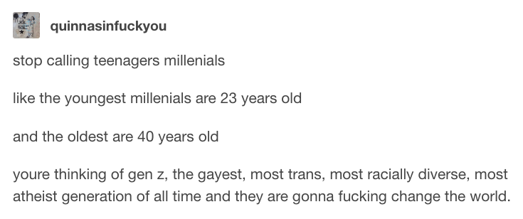 18 Tumblr Posts About Gen Z That'll Make You Say