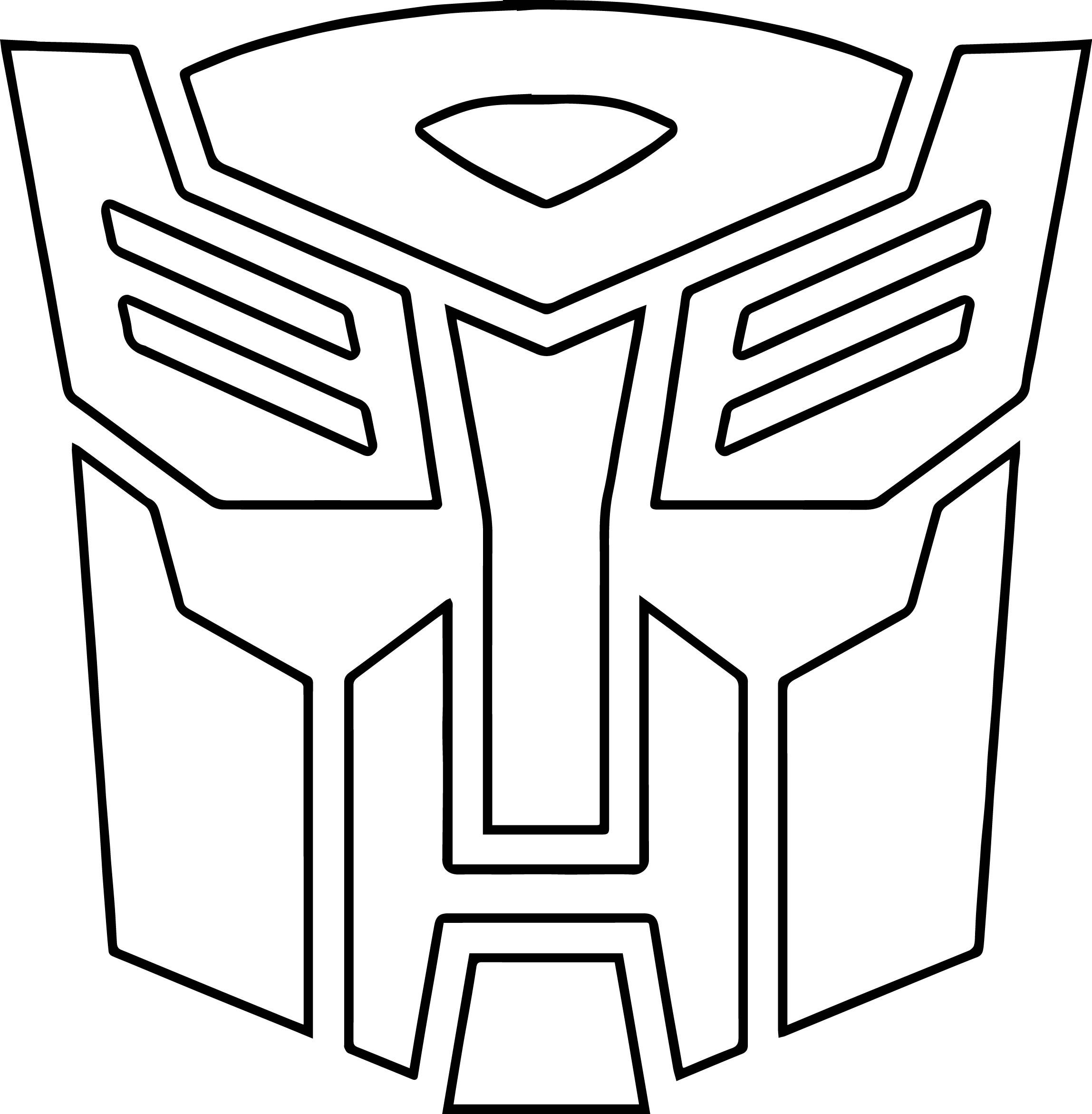 Transformer Logo Coloring Pages To Print 11 R In 2020 Transformers Cake Transformers Birthday Cake Transformer Birthday