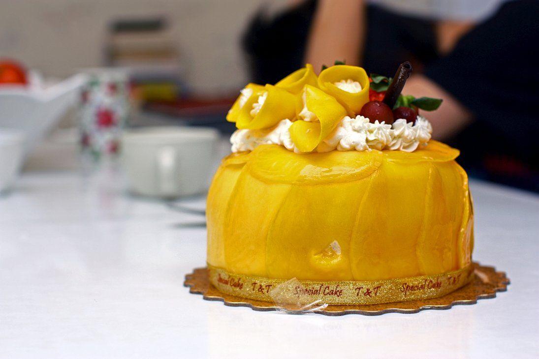 Superb Mango Birthday Cake From Tnt By Forthewinwinx3 Cake Birthday Funny Birthday Cards Online Inifodamsfinfo
