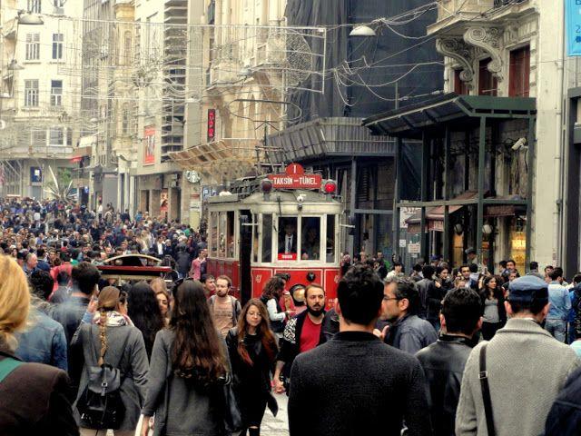 0a05c37c5d2d15 Nostalgia tram on Istiklal Street