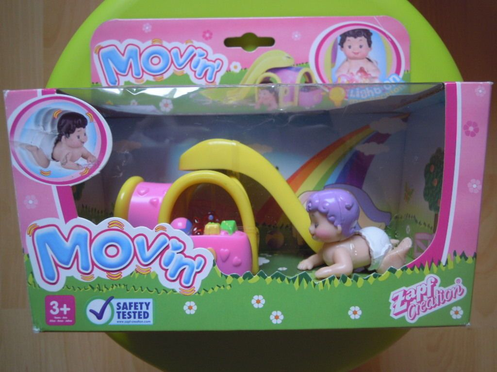 Zapf Creation * BABY BORN * Movin Spielset & Baby Figur *** in ...