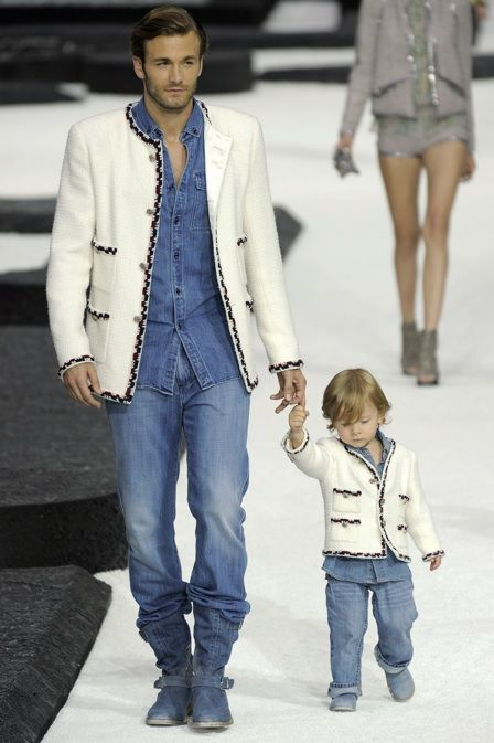 chanel kids. 3-year-old chanel model gives first interview, demands hot dogs kids