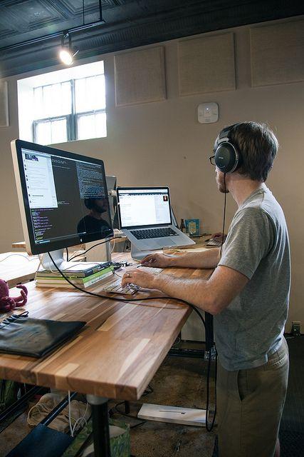 Lifehacker Workspace Show And Tell Diy Standing Desk Diy Office Decor Desk