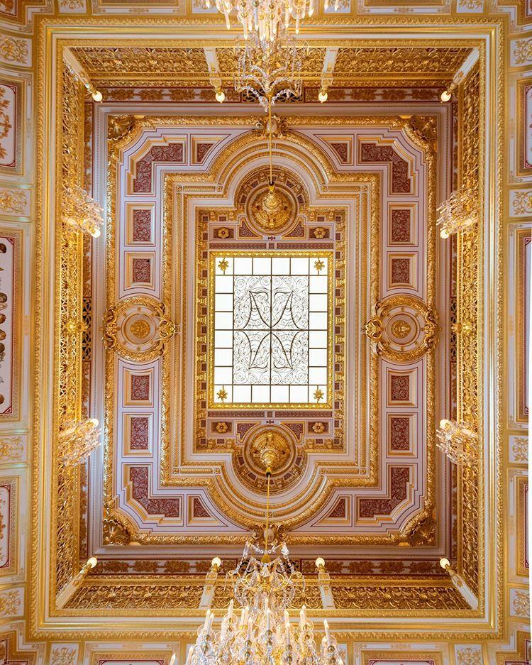 Frank Auf Instagram Ceiling Of The Small Ballroom In The Residenzschloss Dresden Completed In 1868 Destroyed In 1945 Com Dresden Schwerin Berliner Schloss
