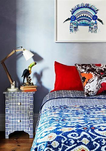 Blaue Schlafzimmer, Modernes Schlafzimmer, Schlafzimmer, Mitte Des  Jahrhunderts, Quartos