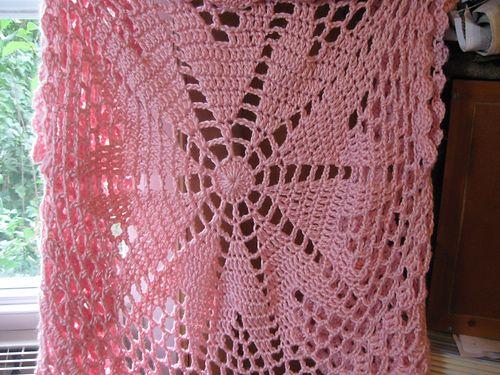 Pink Mix Circular Cardigan Pattern By Heidi Walsh