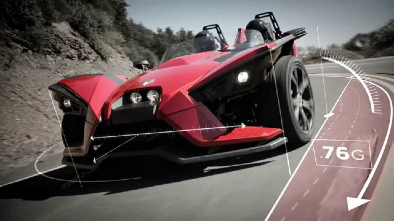 Cycle world 2015 polaris slingshot first ride polaris slingshot polaris pinterest polaris slingshot slingshot and cars