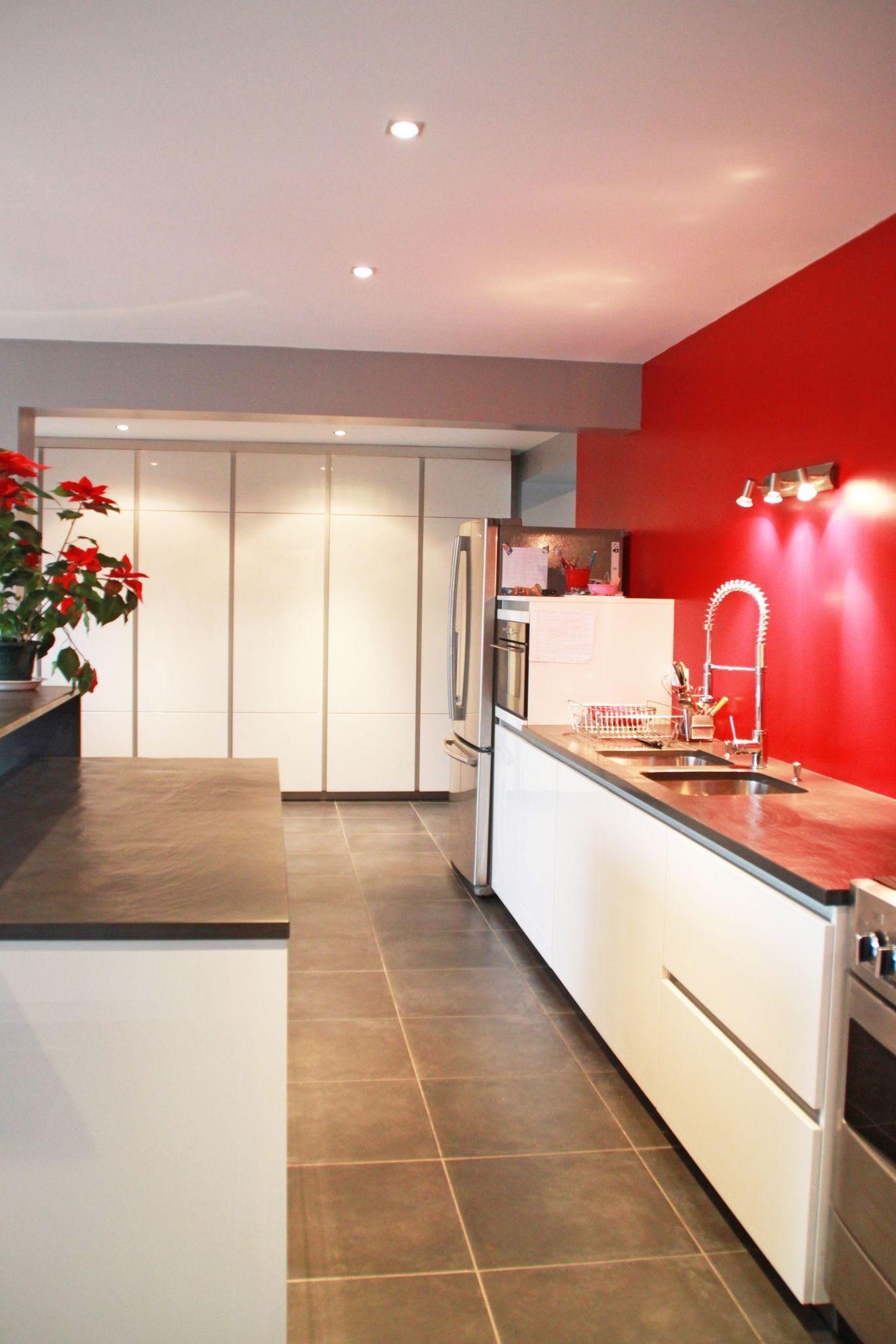 Cuisine Aménagée En Longueur cuisine aménagée en longueur | cuisine aménagée, cuisine mur