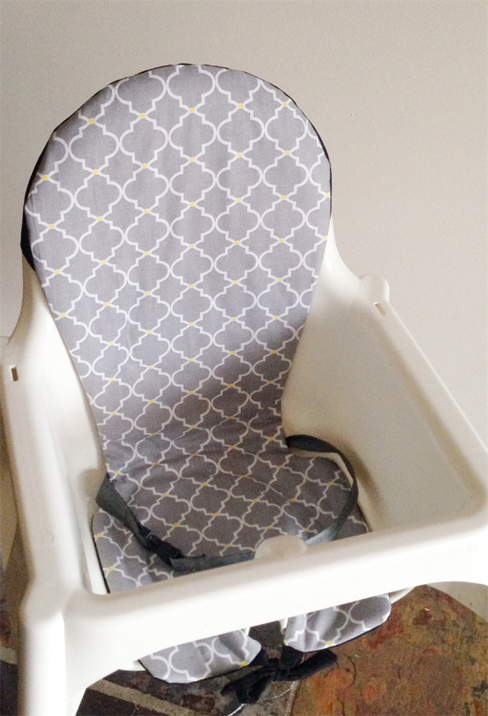 IKEA Antilop Highchair Insert/Cover Grey (With images
