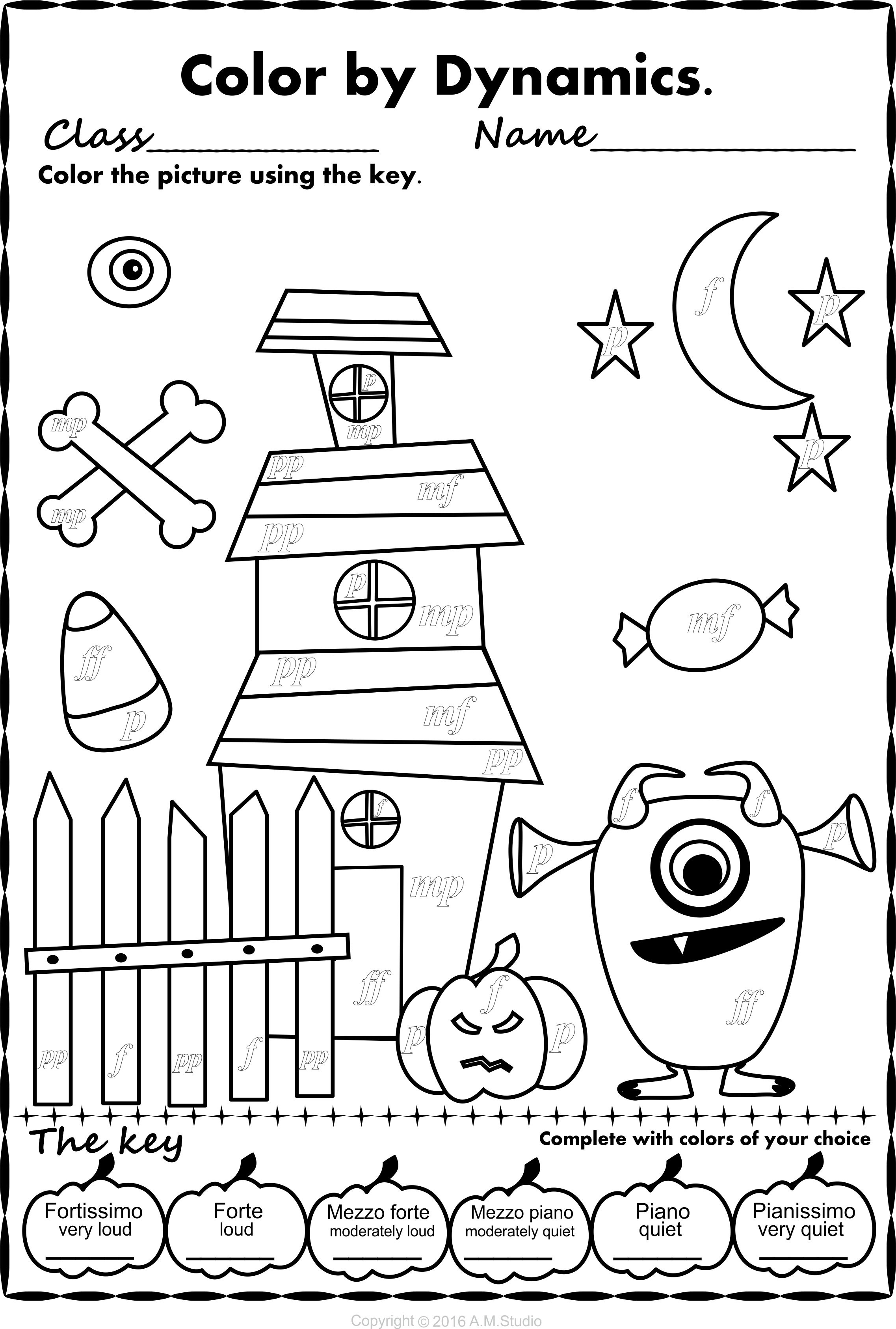 Simple and Fun Halloween Music Activity for Kids. This set ...