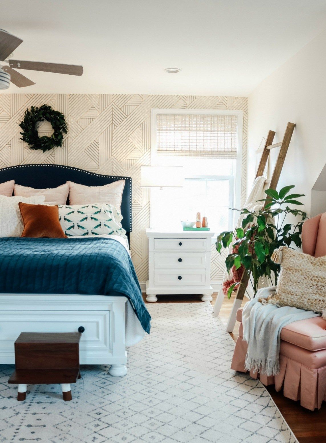 Best Bedroom Makeover Dark Furniture To Bright White With 400 x 300