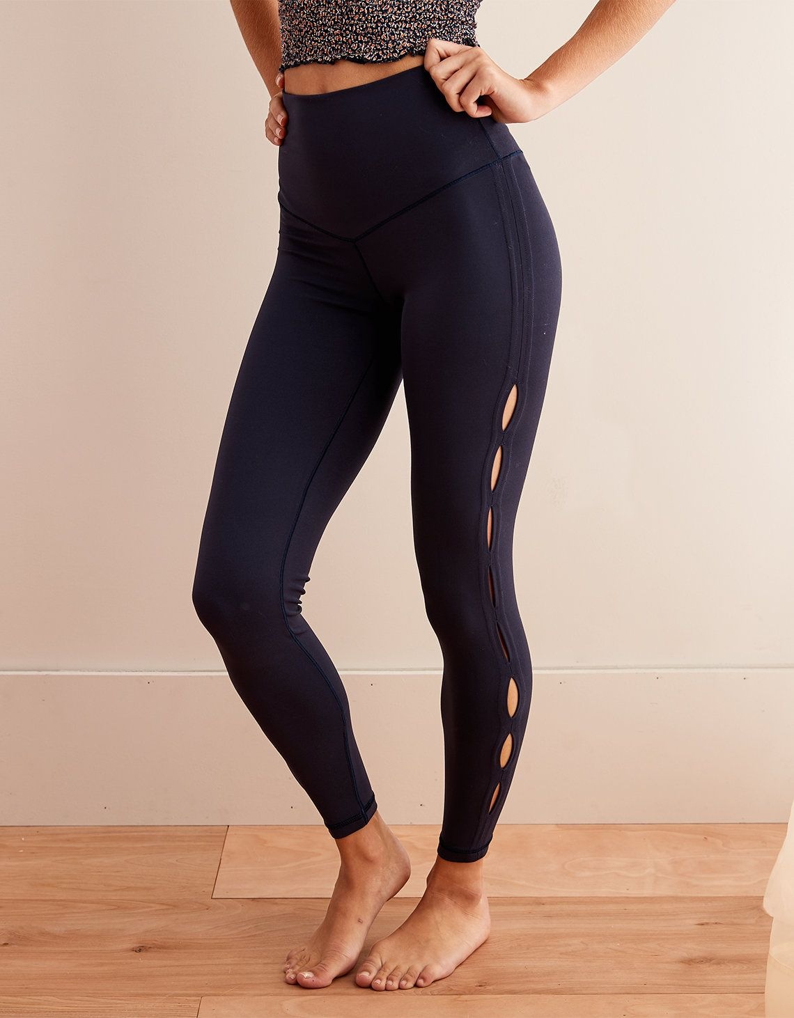 ff0104c3ef4d7d Aerie Play High Waisted Keyhole 7/8 Legging | Chill. Play. Move. in ...