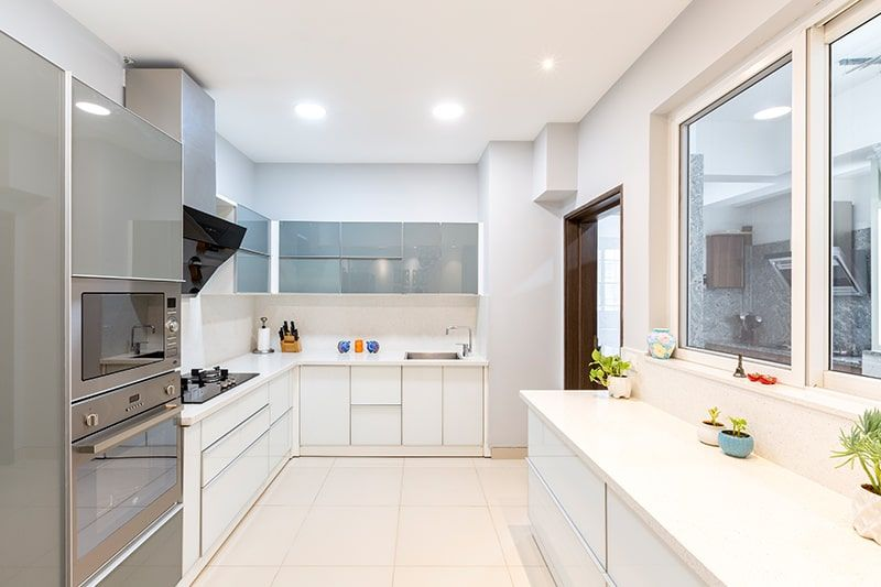 Simple false ceiling designs for kitchen with minimal ...