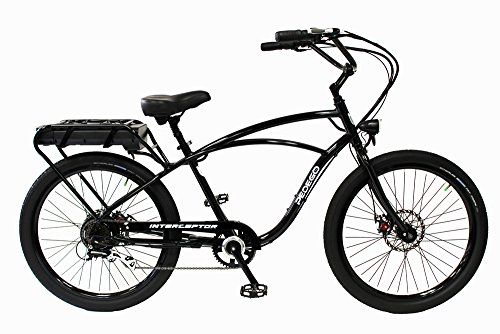 Pedego Interceptor Black Classic Pedego Cruiser Bike Bicycle