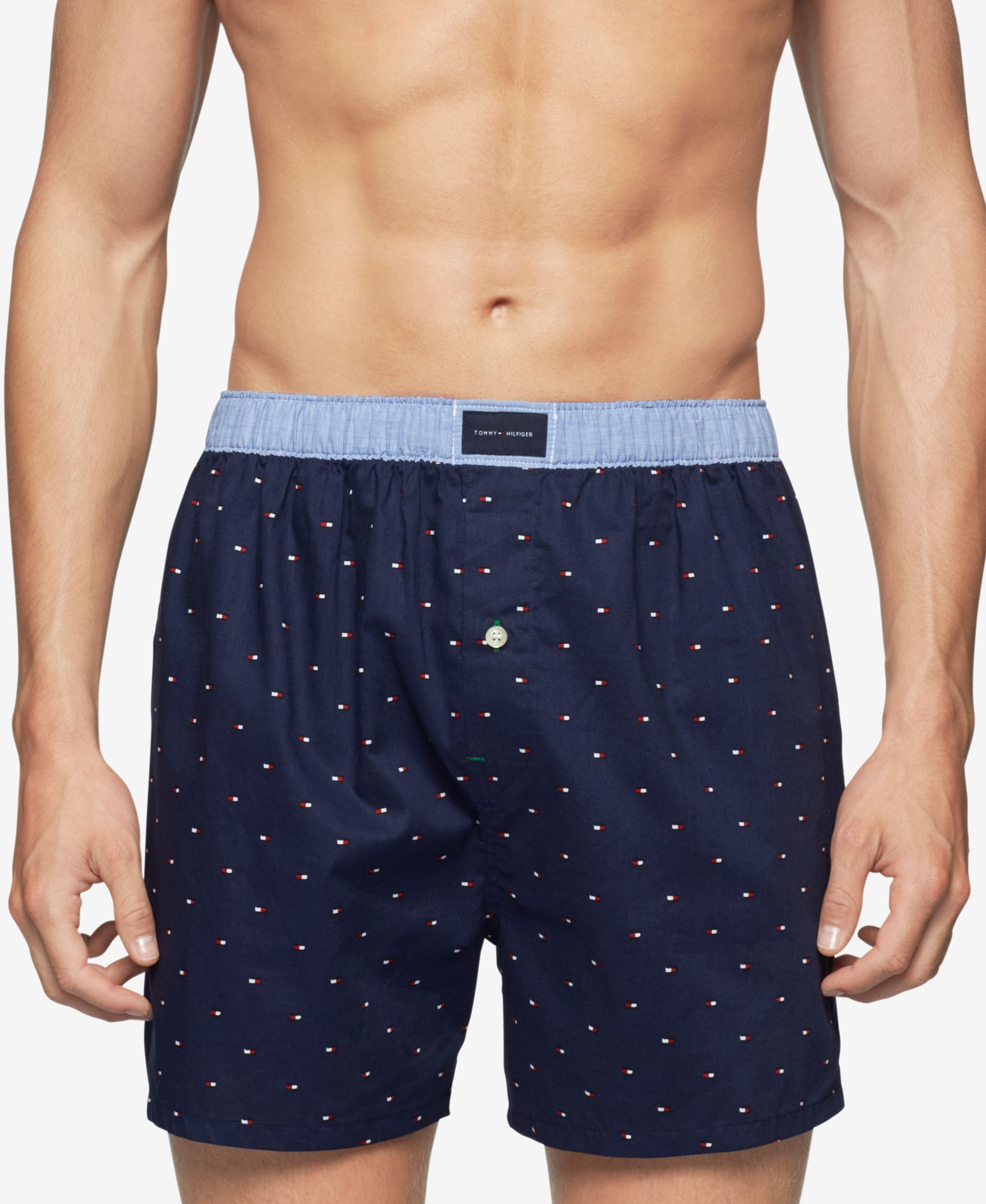 5acc3e1837 Tommy Hilfiger Men's Printed Woven Boxers   Products   Tommy ...