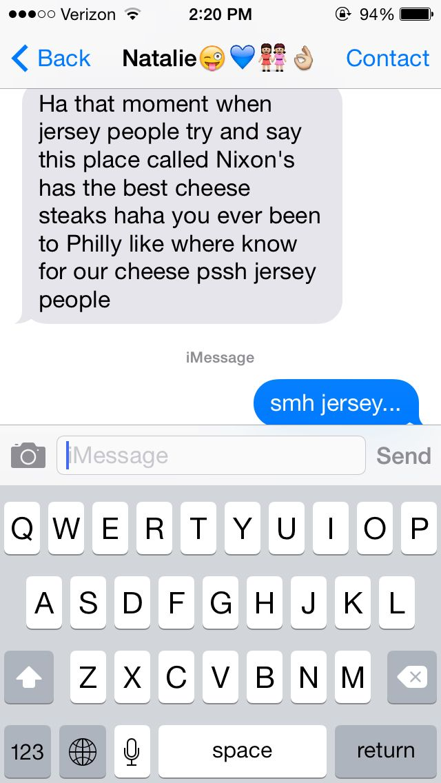 Jersey thought  #philly