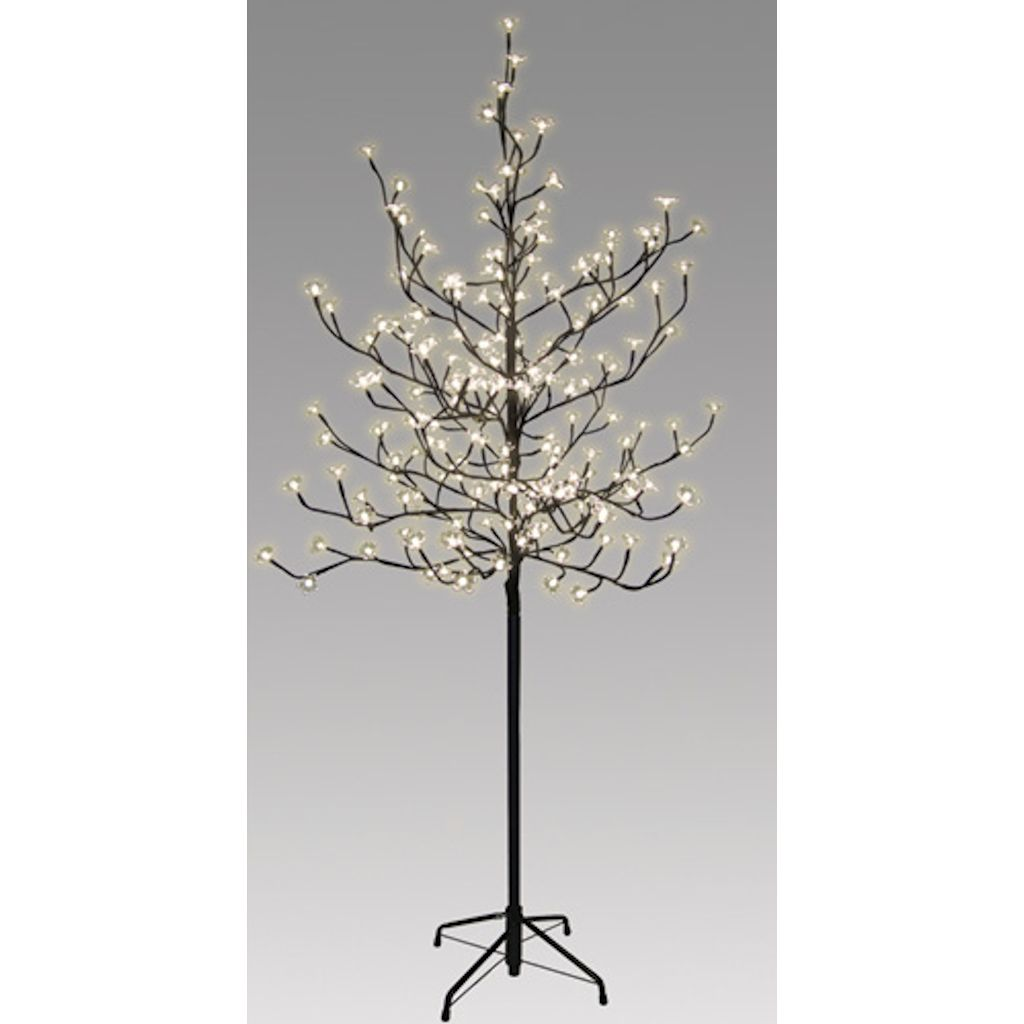 6' Clear Blossom Electric LED Lighted Tree (204 Warm White Lights) at eLightBulbs.com