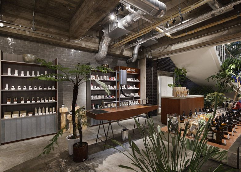 Suppose design office combines retail and gardening in