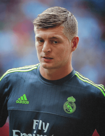Toni Kroos Haircut Hair Tutorial How To Pinterest