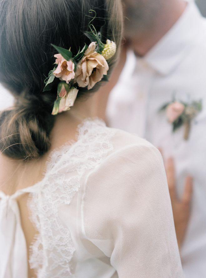 Barefoot Romance Bridal Hair Inspiration Bridal Hair Braided Hairstyles For Wedding