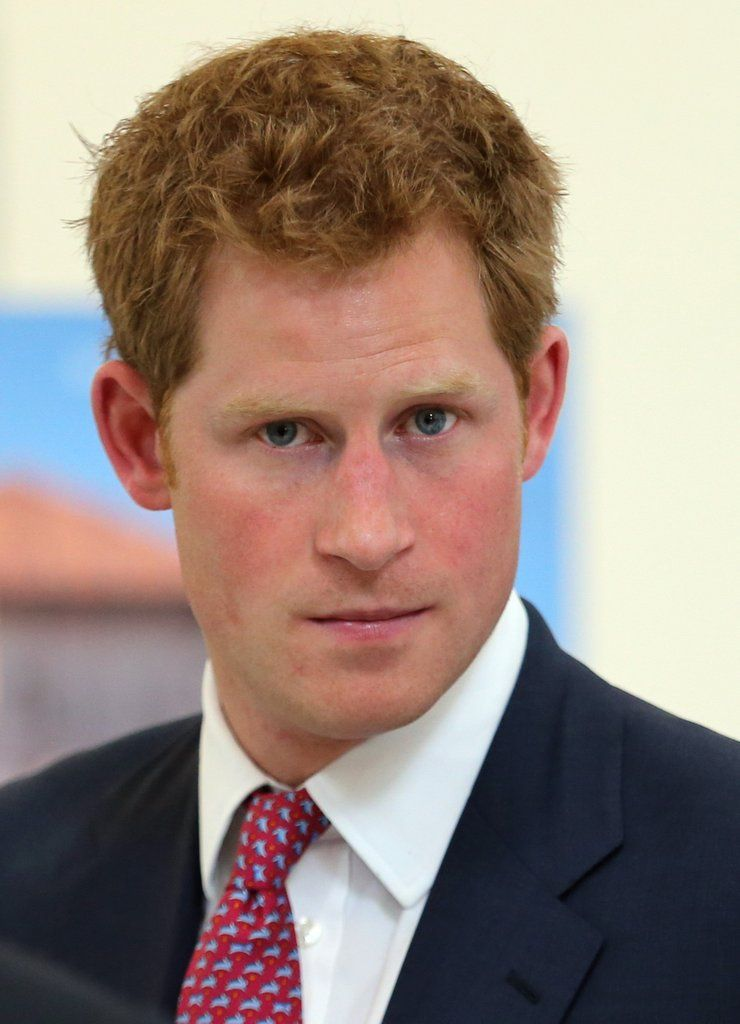 http://www.popsugar.com/celebrity/Prince-Harry-Funniest-Faces-37318414 .... VERY RARE to see Prince Harry with not a smile and concentrating on something VERY serious ... or lost in thought about something or someone!