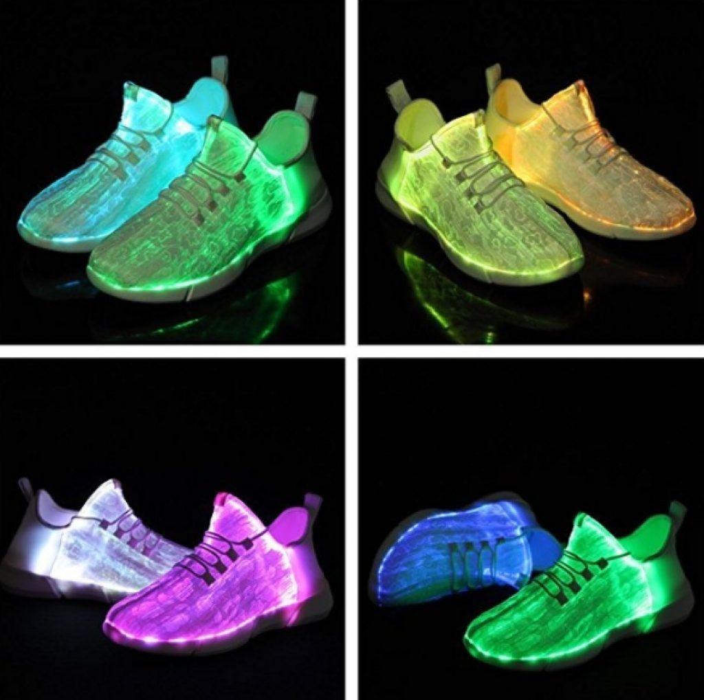 8943a6fd748e Light Up Shoes for Women Flashing Luminous Sneakers