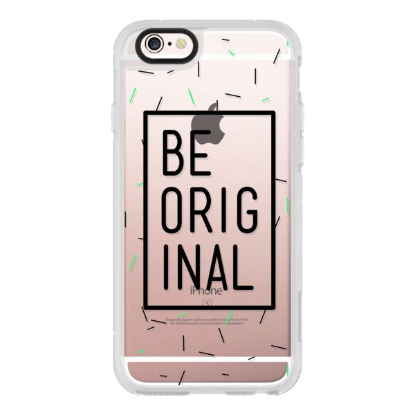 iPhone 6 Plus/6/5/5s/5c Case - Modern confetti pattern be original... ($40) ❤ liked on Polyvore featuring accessories, tech accessories, iphone case, iphone cover case, iphone hard case and apple iphone cases