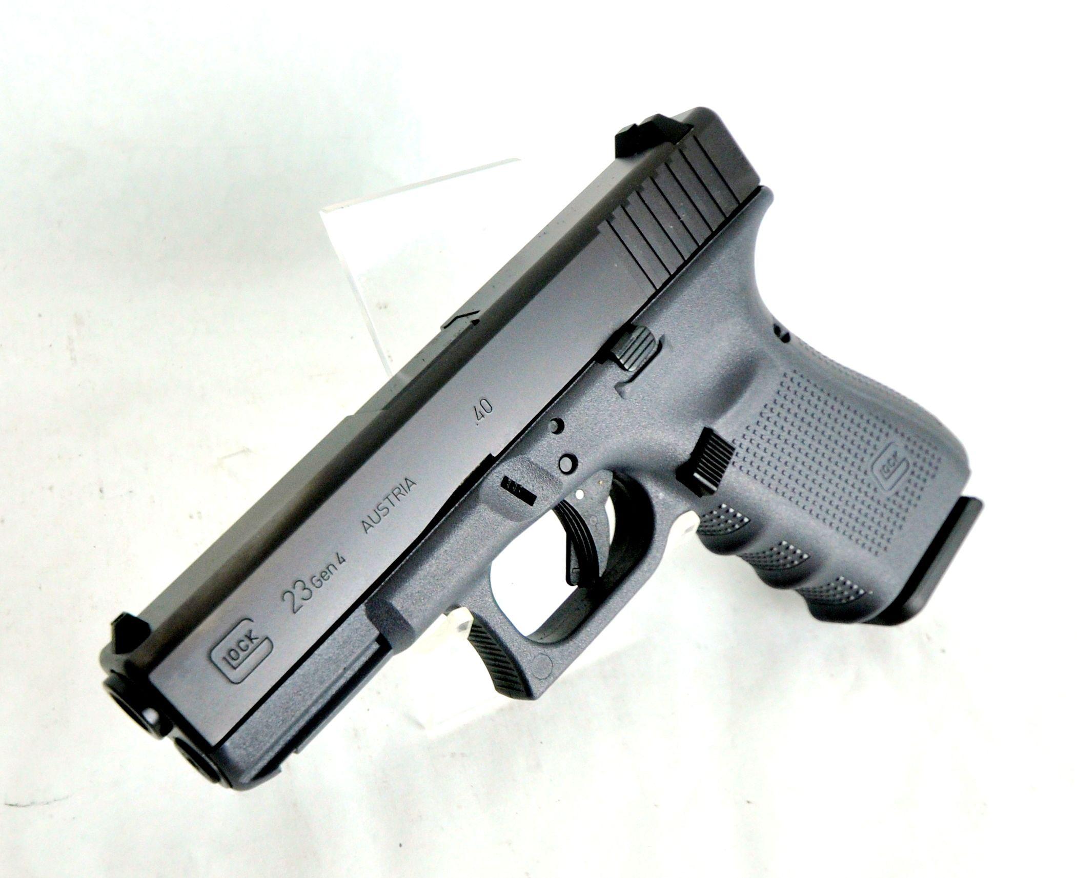 Glock 23 Gen 4 Grey Frame .40 S&W 4\