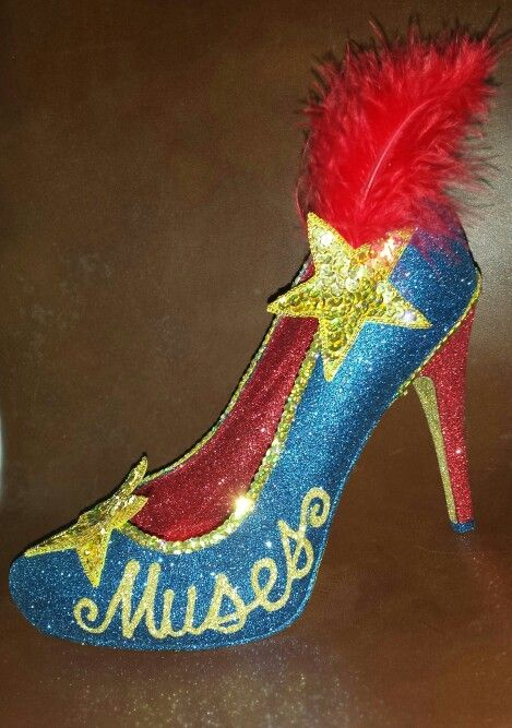 Patriotic Muses Shoe Decorated Shoes Muses Shoes Shoe Inspiration