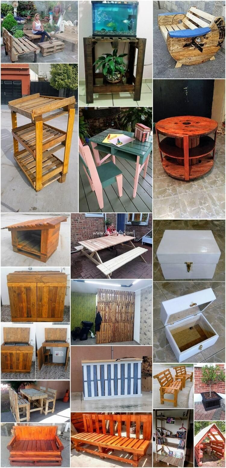 Inspirational Ideas On How To Recycle Wood Pallets Wood Pallet Recycling Wood Pallets Recycled Wood