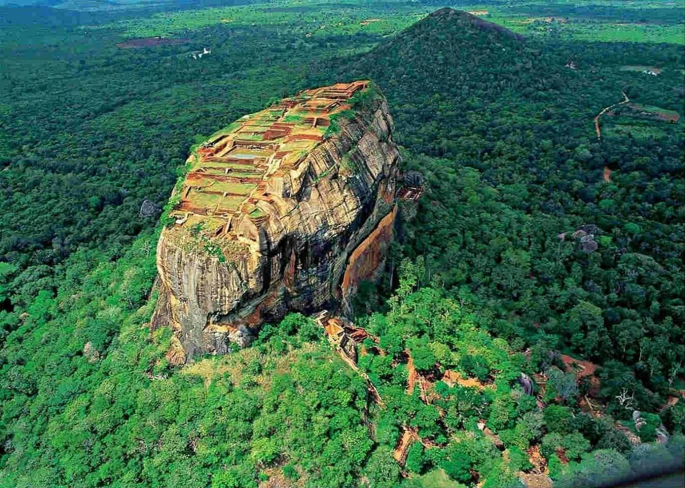 Sri Lanka Sigiriya The Lion Rock Amazingly Beautiful Nature - 12 amazing world heritage sites you have to visit