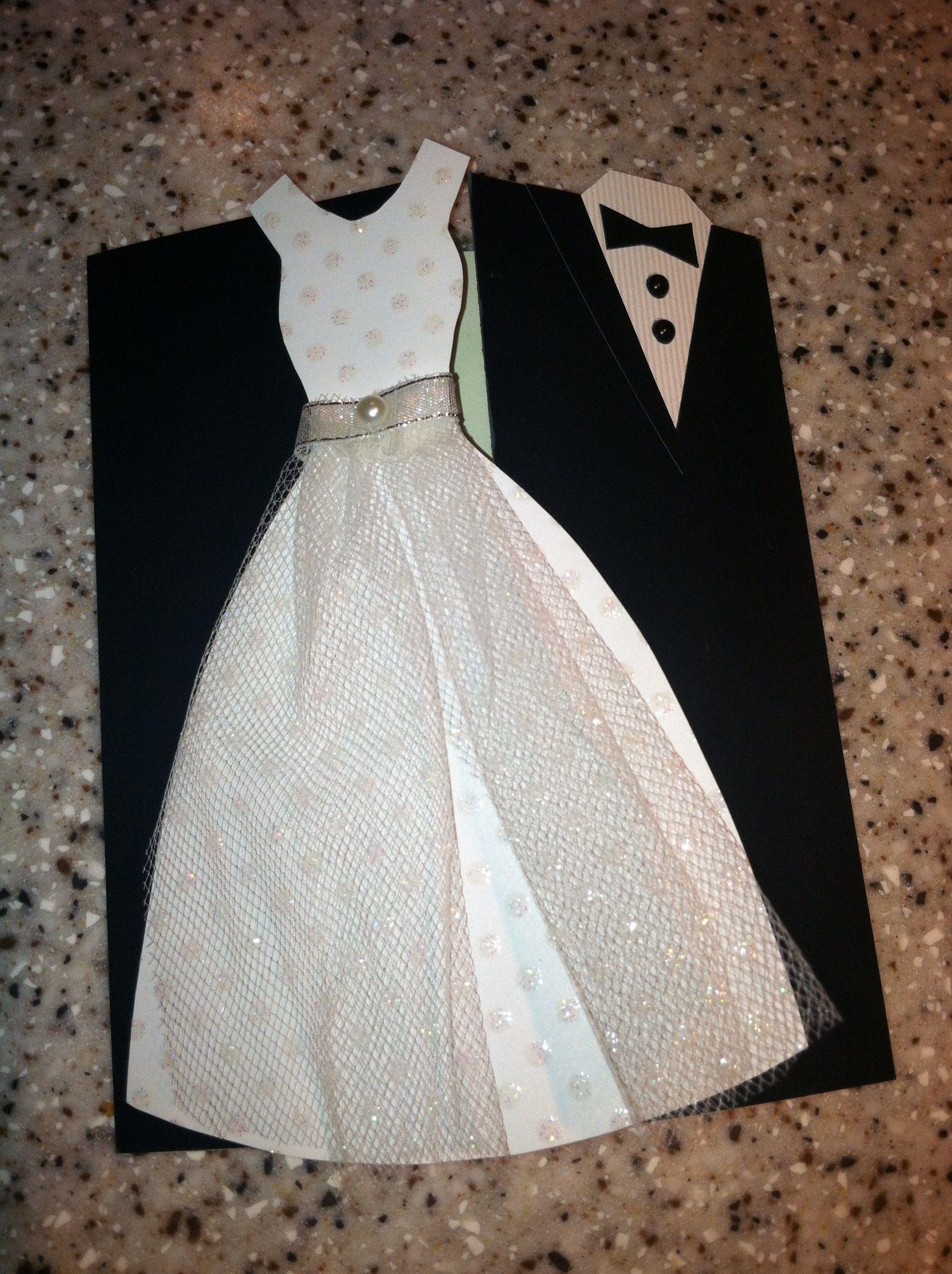 Февраля открытки, свадебное платье на открытке