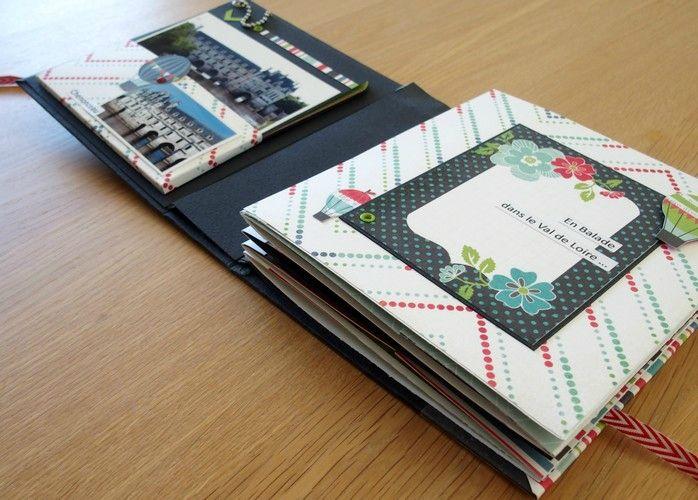 atelier en ligne mini album mini album scrap. Black Bedroom Furniture Sets. Home Design Ideas