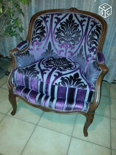 fauteuil ancien de style bergre - Fauteuil Ancien Bergere