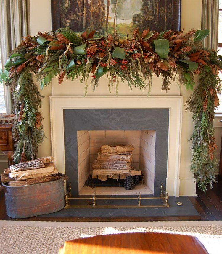 52 Stunning Christmas Mantel Decorating Ideas 🎅 Crafts/Holidays - southern living christmas decorations