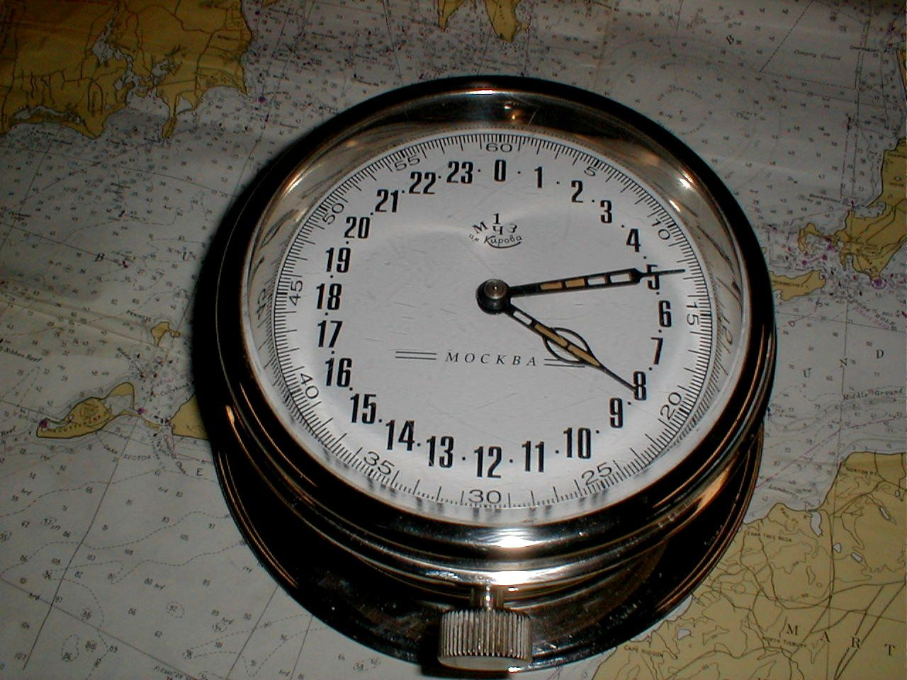 Antique soviet 24 hour ship clock bridgecb collect ems antique soviet 24 hour ship clock bridgecb amipublicfo Images
