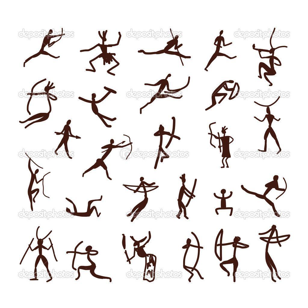 Pinturas rupestres pueblo tnico boceto para su diseo pinturas rupestres pueblo tnico boceto para su diseo ilustracin de stock 42702419 biocorpaavc Image collections