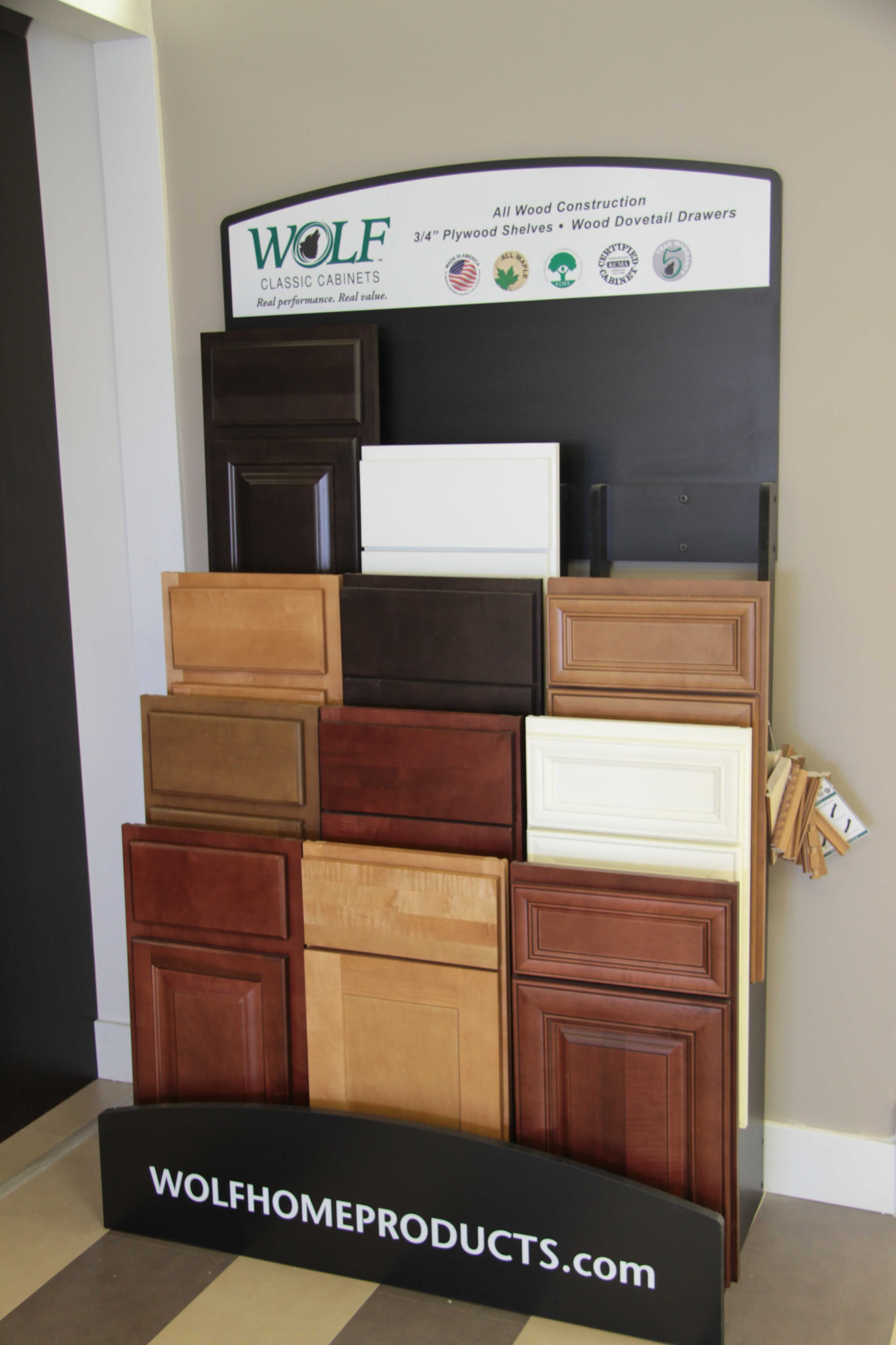 wolf classic cabinets - display | wolf classic cabinets