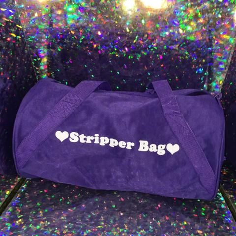 5f2b0b02d5 Stripper Bag- Purple