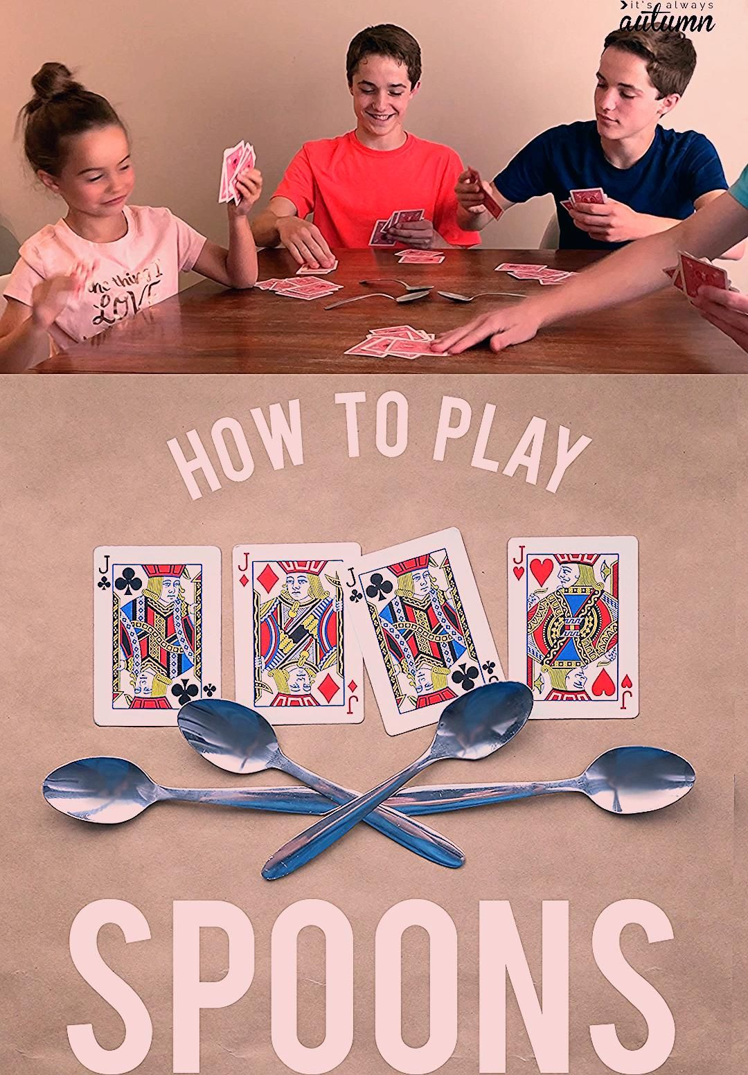 Photo of How to play Spoons