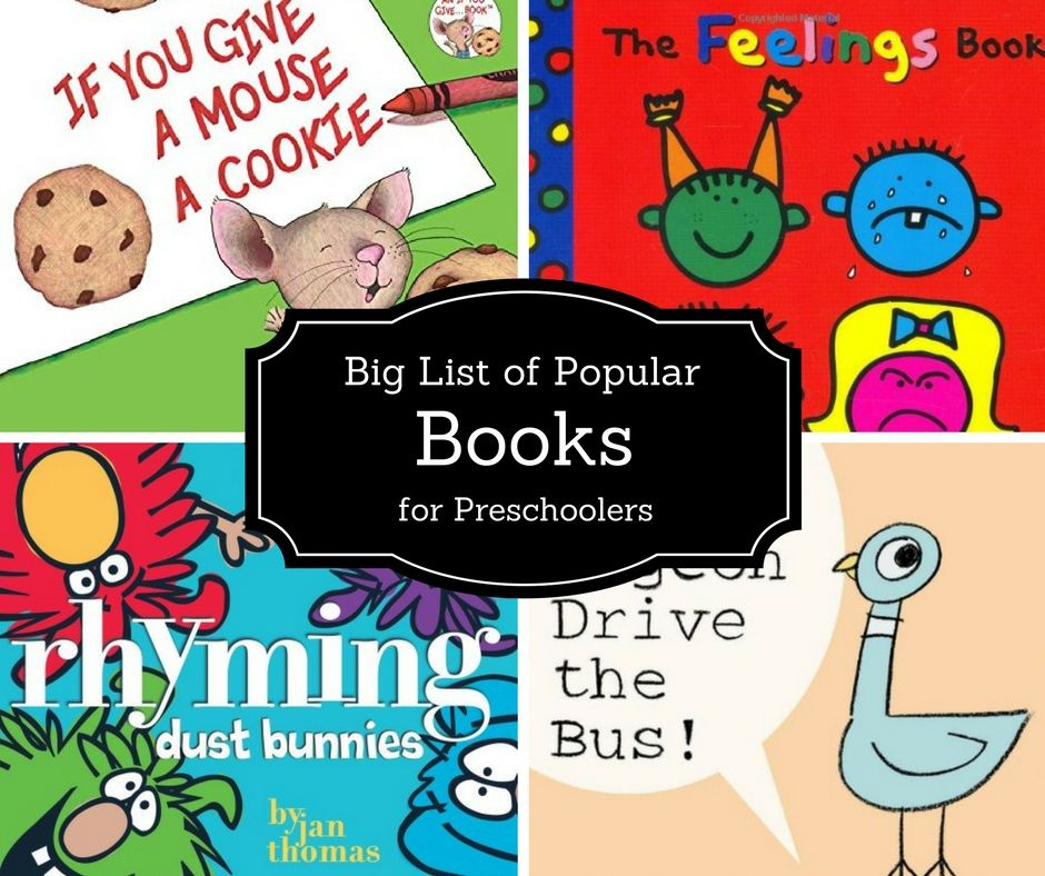 The Most Popular Books Ever For Preschoolers Education Pinterest