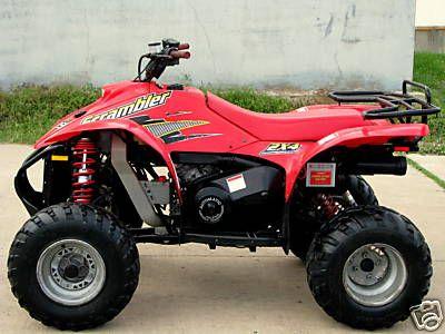 Polaris Scrambler 500 Scrambler Motorcycle Scrambler Motorcycle