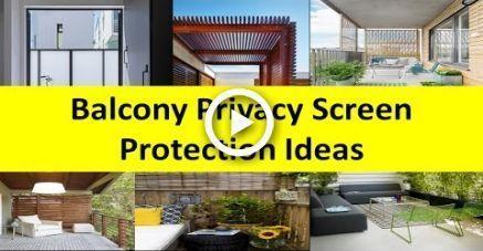 Balcony Privacy Screen Protection Design Ideas #balconyprivacyscreen Balcony Pri #balconyprivacyscreen