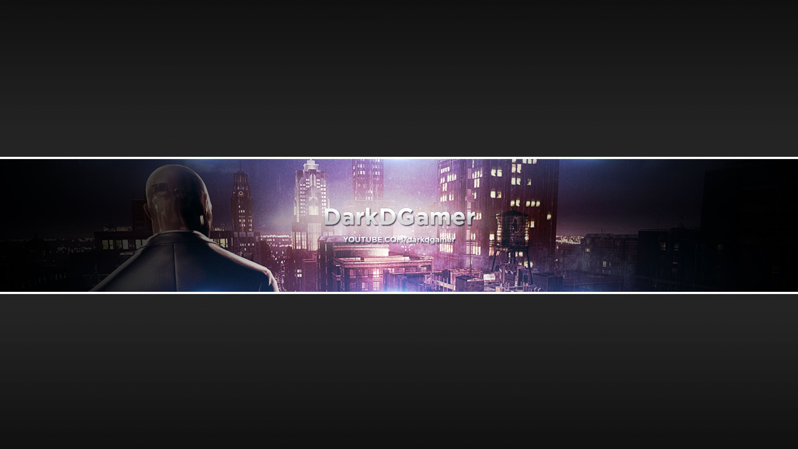 Hitman Absolution Youtube Banner Projetos