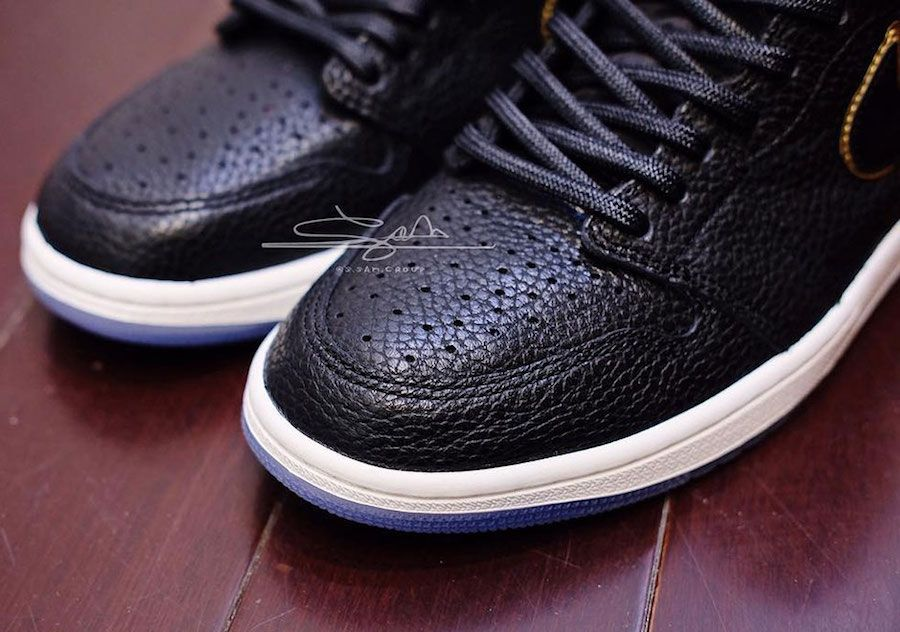 cc4540a0243 The Air Jordan 1 Retro High OG All Star Los Angeles features a Black  premium tumbled