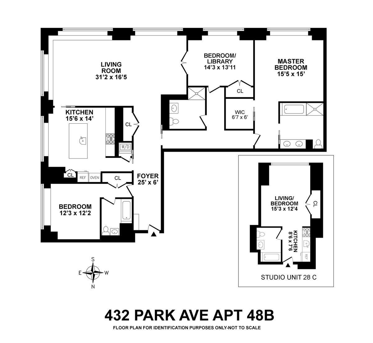 432 Park Avenue #28C48B In Midtown, Manhattan