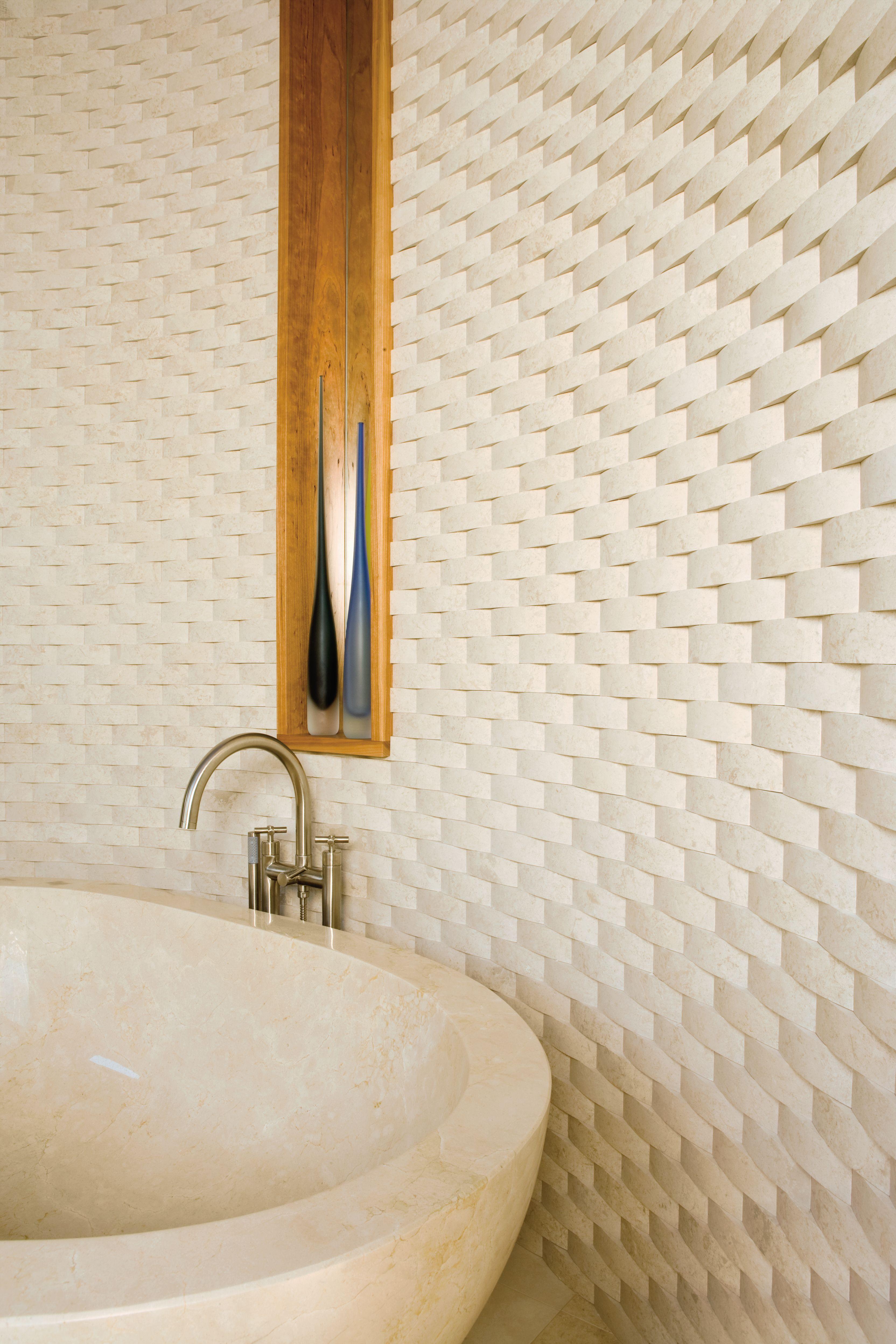 Ann Sacks St Petersburg 2 X 6 Basketweave Limestone Field In Honed Finish Designer Hammer Schmidt Inc